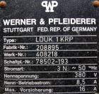 Used: Werner & Pfleiderer lab size double arm mixer, .27 gallon working capacity