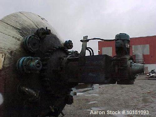 Unused-Reglassed/unused Pfaudler 3,000 gallon reactor body.