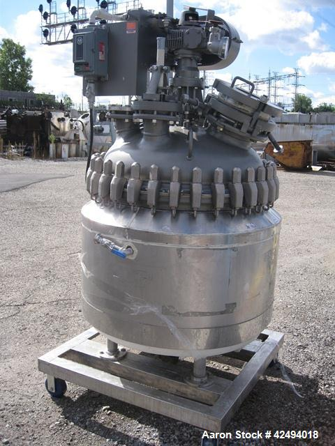 Used- 75 Gallon Pfaudler Glass Lined Reactor