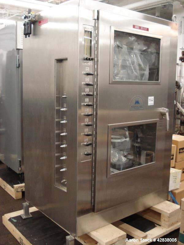 Used- Wunderlich-Malec Mixed Bed Stirred Bioreactor, Model AMBIS