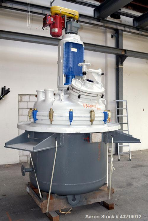 Used- 1180 Liter De Dietrich Glass Lined Reactor