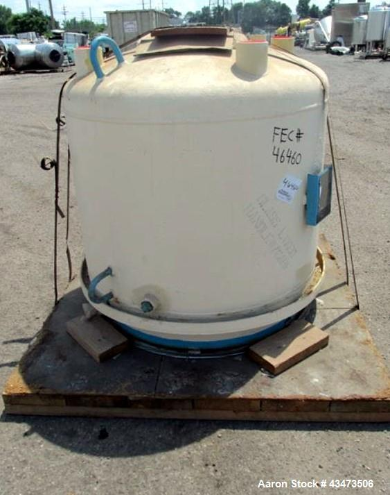Unused- Pfaudler Glass Lined Reactor Lower Body Only, 200 Gallon, 5015 Glass. Internal rated 25 psi & Full Vacuum at 450 deg...