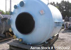 d - 1500 Gallon Pfaudler Glass Lined Reactor Body. Rated 100 psi and full vacuum at 450 f. Jacketed ...