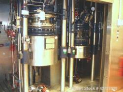 R & M Italia Glass Reactor Train, 160 Liter (42.2 Gallon). With 160 liter glass lined reactor, remo...