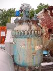 Used-Pfaulder 100 Gallon Glass Lined Reactor.  30