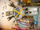 Used: Pfaudler K series glass lined dual rated, lethal service reactor, 1000 gallon, 9129 white glass, model KC-60-1000-100-...