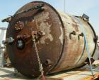 Used- DeDietrich Glass Lined Reactor, 2000 Gallon, 3009 Blue Glass. Approximately 78
