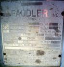 Used- DeDietrich Glass Lined Reactor, 5000 gallon, 9115 glass. Approximately 108