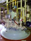 Used- Pfaudler Glass Lined Reactor, 3000 gallon, 9129 white glass with calibration lines, vertical. Approximately 96