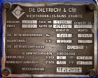 Used- 2030 Liter Glass Lined De Dietrich  Reactor