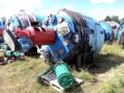Used- 9,327 Litre DeDietrich White Glass Lined Reactor, Model BE8000