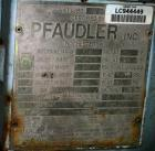 USED:Pfaudler closed tank glass lined reactor, model RA48-500, 500 gallon, vertical. 9129 white glass. 48