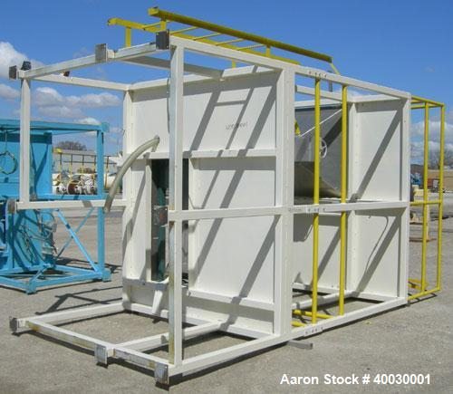 Used- Resin Screening Tower