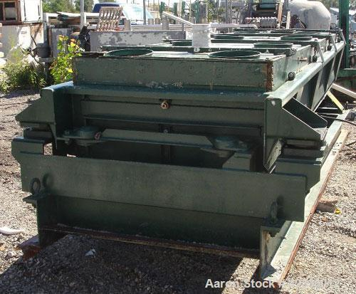 "Used- Rotex Screener, Model 83GP, Carbon Steel. 40"" Wide x 120"" long triple deck, 4 separation. Clamp down top cover, bottom..."