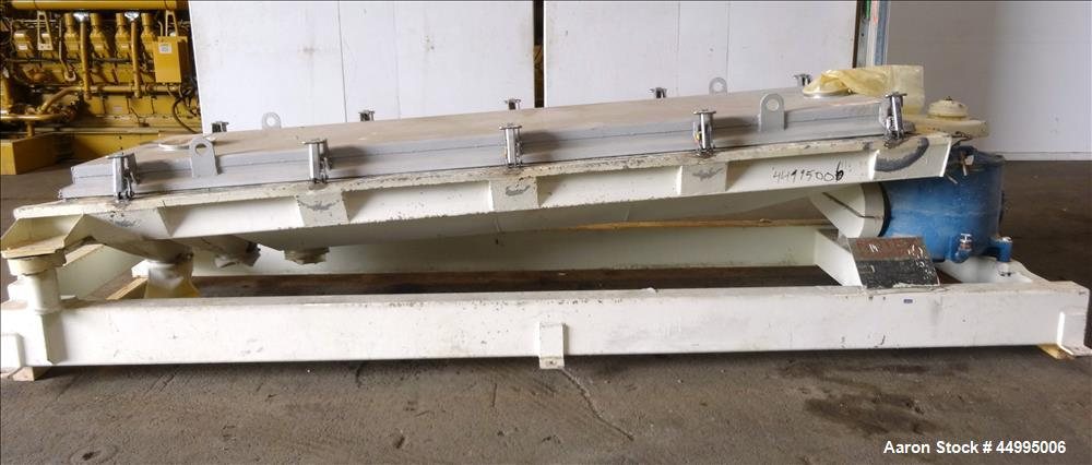 Used- Rotex Screener, Model 82-SAN-AL/SS, 304 Stainless Steel.