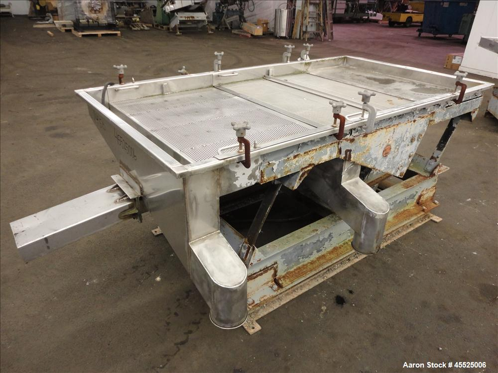 Used- Stainless Steel Witte Screener