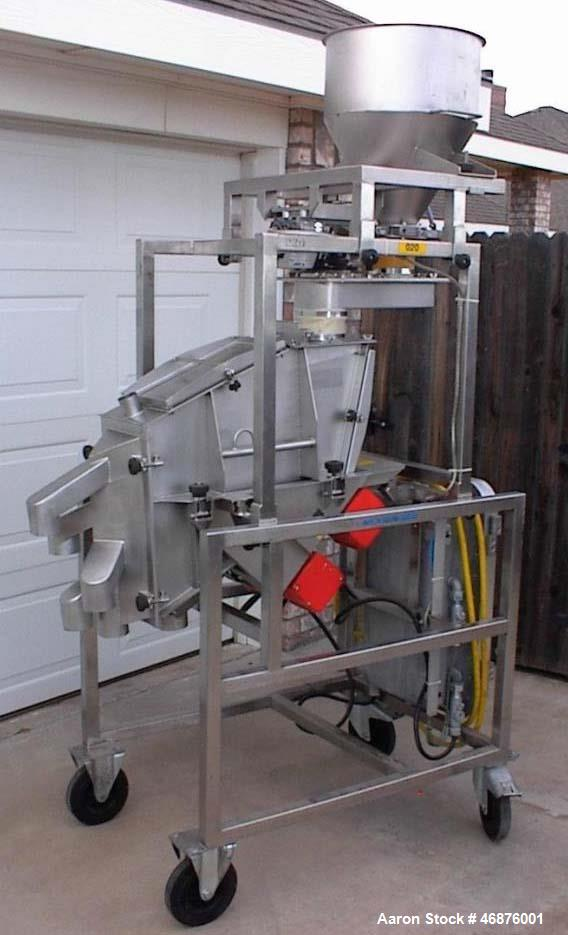 Used- Morgensen Flow Through Screener / Sizer