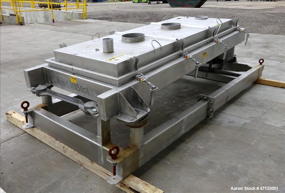 Used- Rotex Screener, Model 802SAN SSSL, 304 Stainless Steel.