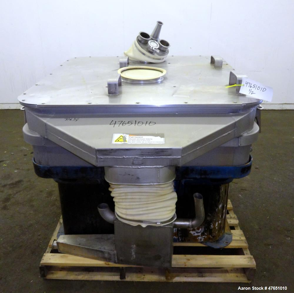 Used- Rotex Liquatex Model L44-1-C, Separators Screener