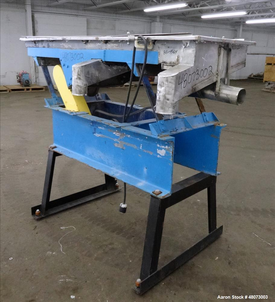Used- Witte Screener, 304 Stainless Steel.