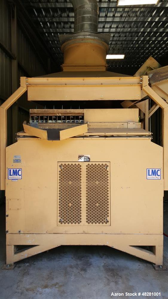 Used- LM Carter Marc 500 Gravity Separator. Stainless steel step deck. 20 hp blower motor, variable speed drive, 5 horsepowe...