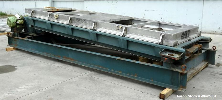 Used- Rotex Screener, Model 522A, Carbon Steel.