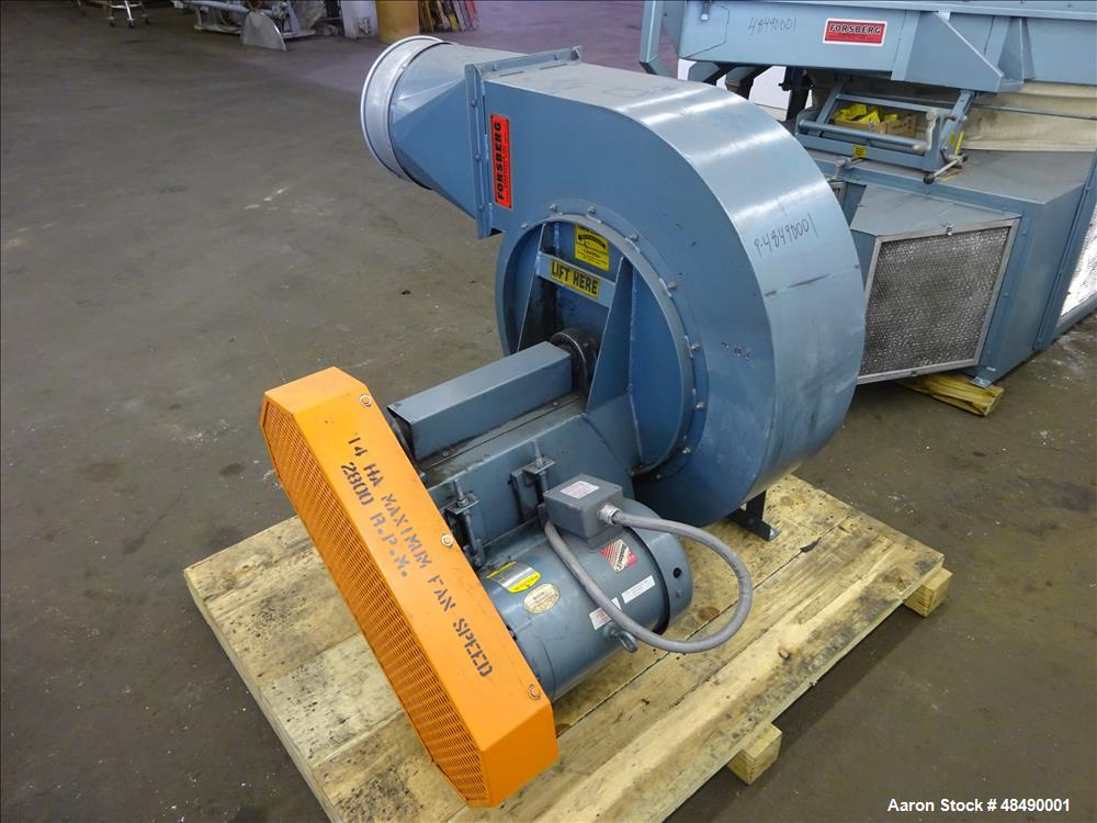 Used- Forsberg Vacuum Gravity Separator, Model 50-VMS.