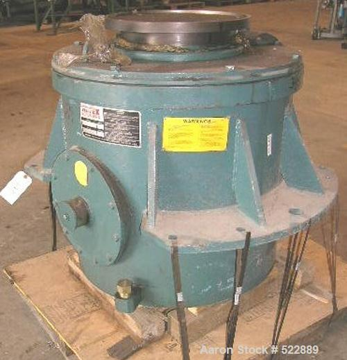 "Used-UNUSED: Rotex drive head, series 70. 700# upper weight, 339# lowerweight. Shipping dimensions: 45"" wide x 44"" high x 48..."