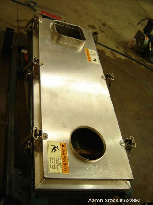 "USED: 24"" x 48"" Rotex screener, model 3242A-AAsl. 2 hp, 230/460 volt,184T frame. Reliance electric Duty Master motor with V-..."