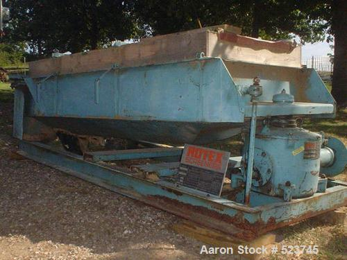 "USED: Rotex GP43, 2 hp, 40"" x 92"", carbon steel, 3 screens, gearboxreported to be reconditioned."