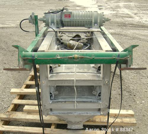 Used- Stainless Steel Derrick Screener, Model K18-96A-2-SDDTE,