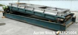 Used- Rotex Screen, Model 522A, carbon steel.