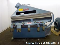 Used-Forsberg Vacuum Gravity Separator, Model 50-VMS.  19 sq. ft. deck size, 1000-7000 CFM range.  Includes control panel, S...