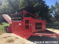 Used- Pitbull Portable Screener. Includes: Pitbull 2300P - Portable screening plant. Zenith Engine - PO: ZPP416 48 hp. (1) S...