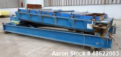 "Used- Rotex Screener, Model 523DA MMMM, Carbon Steel. 60"" Wide x 120"" long triple deck, 4 separation. Clamp down top cover. ..."