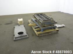 Used- Rectangular Screener, Aluminum.