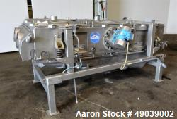 "Used- Sweco Wet Rectangular Separator, Model FM3-1W, Stainless Steel. Requires (3) 36"" x 48"" screens, 30 square feet active ..."