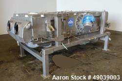 Used- Sweco Wet Rectangular Separator, Model EM3-1W