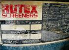 Used- Rotex Screener. Model 522, Stainless Steel. 60