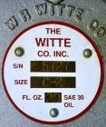 Used- Witte Screener, 304 Stainless Steel. 9-1/2