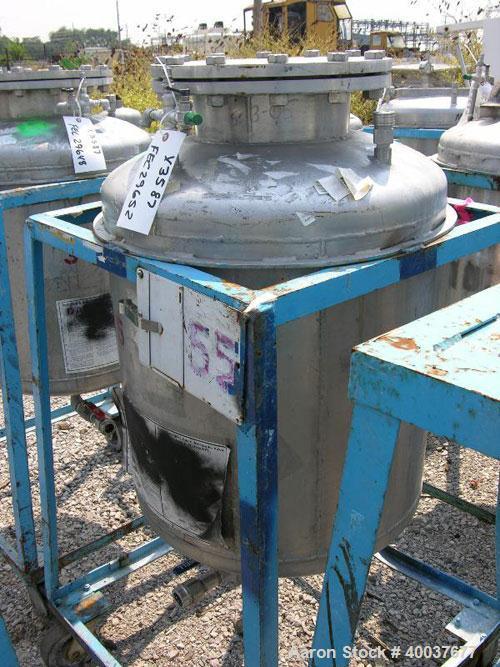 Used- 50 Gallon Stainless Steel Norwalk Pressure Tank
