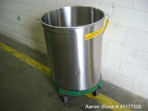 Used- 50 Gallon Stainless Steel Tank