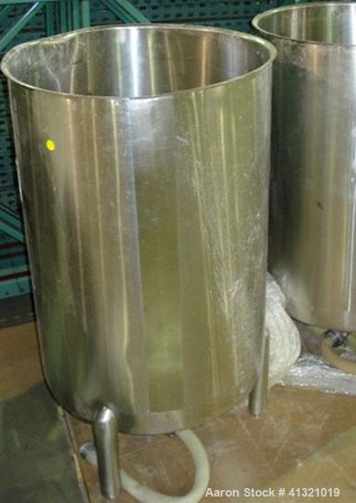 Used-Tank, 50 gallon, Stainless steel.