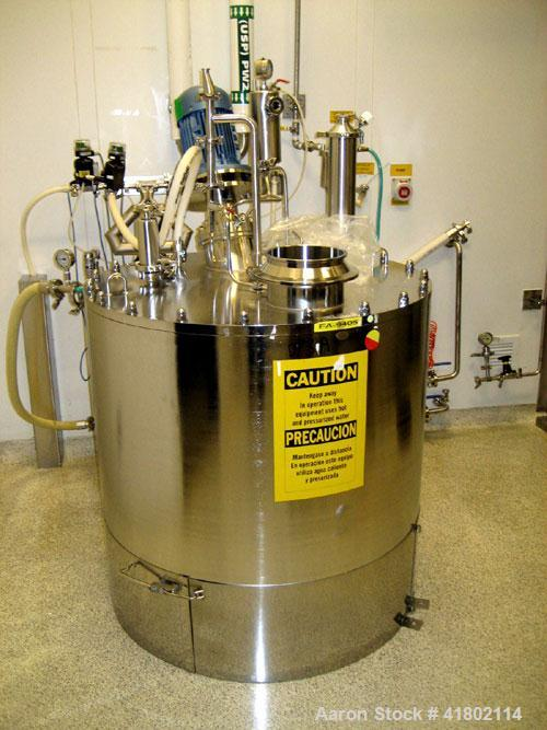 Used- 52.8 Gallon Stainless Steel Packo Pressure Tank