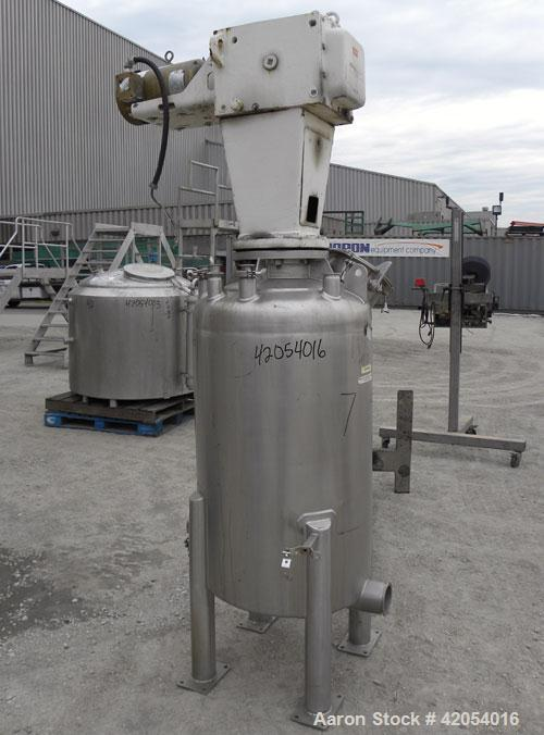 Used- 80 Gallon Stainless Steel Letsch/ Precision Stainless Tank