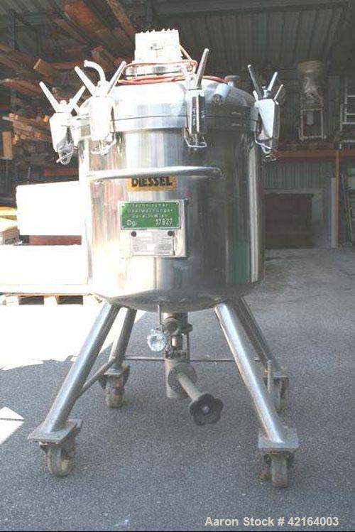 Used- 48 Gallon Diessel Stainless Steel Tank