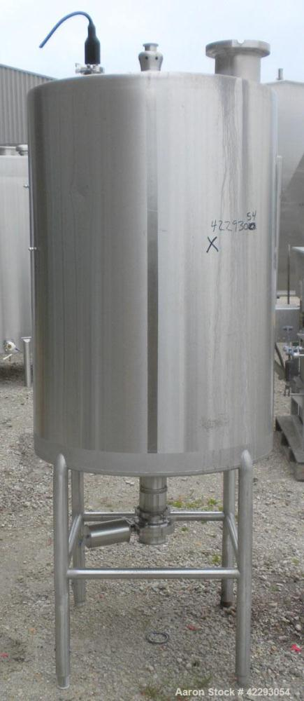 Used- 180 Gallon Stainless Steel Hartel Tank