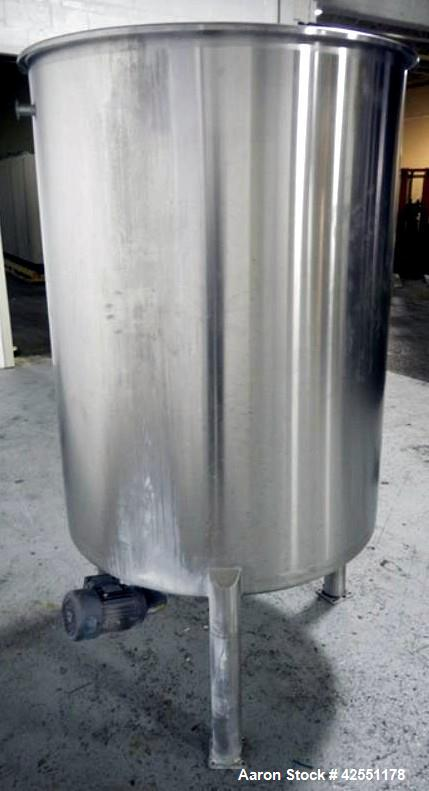 Used- 1000 Liter Stainless Steel Lee tank, Model 1000LDBT