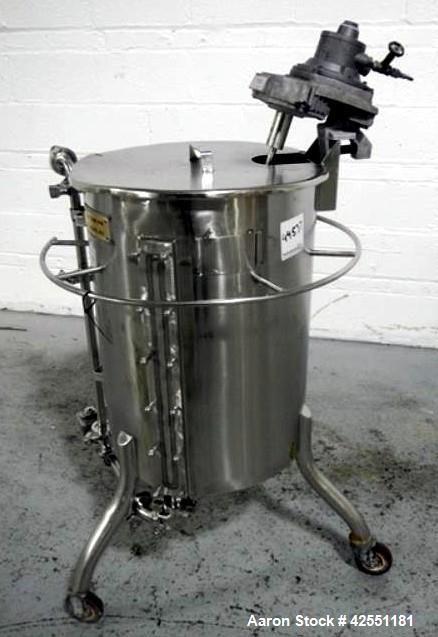 Used- 25 Gallon Stainless Steel Bush Tank