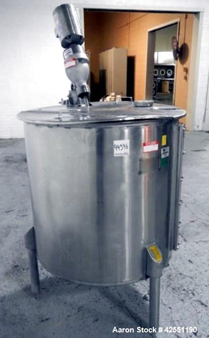 Used- 150 Gallon Stainless Steel Bush Tank